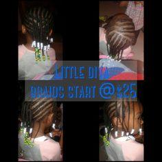 Little diva braids start @$25