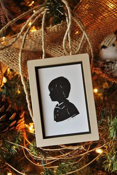 The Butlers: Silhouette Ornaments