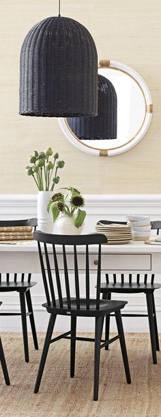 Stylischer Esstisch Signum 90cm rund weiß puristisch Tisch