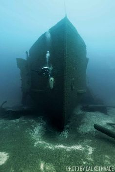 Best Wreck Diving in the United States — Scuba Diving