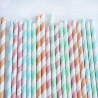 Candy Shoppe Stripey Straw Mix