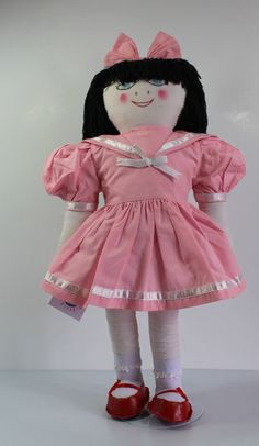 Tracy, The Handmade Cloth Doll by maripipicrafters on Etsy