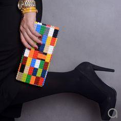 acee536cf4452 Kopertówka multicolor z klocków LEGO® - agabag - Kopertówki Lego