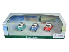 BMW Isetta 3pc Gift Set 1:43 Diecast Model Cars by Cararama 35317