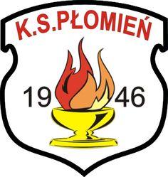 1946, Płomień Przyprostynia (Poland) #PłomieńPrzyprostynia #Poland (L22481) Badges, Soccer, Football, San, Logos, Sports Clubs, Hs Sports, Poland, Coat Of Arms