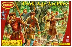 Buy Dark Age Archers - Unit at Mighty Ape NZ. Includes bases for your Big-Battle games of Swordpoint, as either Light Infantry or Skirmishers. Dark Ages, Gripping Beast, Medieval Games, Body Swap, Living In New Zealand, Big Battle, Battle Games, Age 30, Rpg