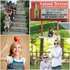 First Day of School Photo Ideas 3