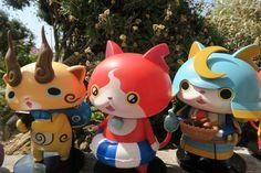 Figurines collectors (et au passage super mignonnes !) de la célèbre série #YokaiWatch arrivées ce matin chez #NEKOTEN ! Elles sont plutôt imposantes, funs, colorées et il n'y a qu'un seul exemplaire de chaque !!! Vendues à l'unité, si le lot complet vous intéresse, contactez-nous vite ;-)  93 av de #Nice à Cagnes-sur-Mer... 0493568569  #manga #pokemon #monster #yokai #japon #japonais #culte #anime #animation #neko #cagnes #cagnessurmer #nice #cannes #cotedazurnow
