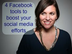 Amy Porterfield is a social media strategist and a co-author of Facebook Marketing All-In-One for dummies.  Watch the video where she gives us some of the fantastic tools that she uses and recommends.