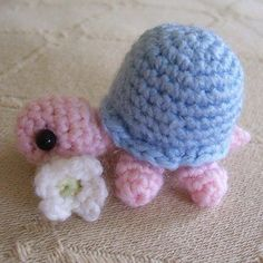 Crochet Baby Turtle by Holland Designs