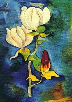 Painting by Hermann Hesse