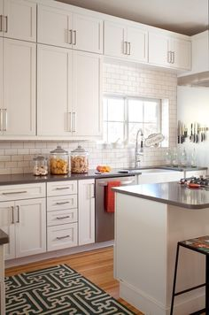Awesome Houzz Kitchens with White Cabinets