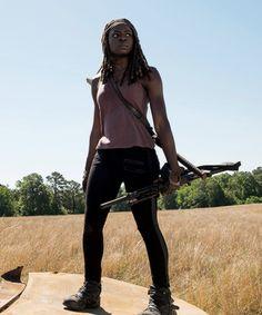 Michonne in The Walking Dead Season 7 Episode 4   Service