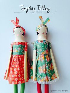 Sophie Tilley dolls. Love them.