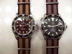 Vintage Rolex with Nato Strap