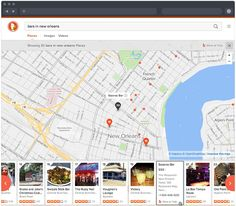 places results for 'bars in new orleans'