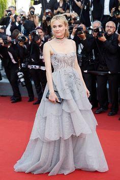 Diane Kruger en Dior haute couture et bijoux Chopard