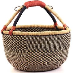 I <3 my Market Basket - take it to farmer's market, outside to pick veggies from the garden, on a picnic, so versatile!