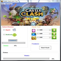10 Best Castle Clash Hack Tool Ideas Castle Clash Hack Castle Clash Castle