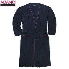 Adamo Hausmantel BORIS 119264 in 360 Navy XXL-10XL=56-86/88