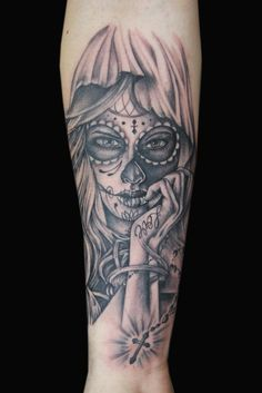 Day of the Dead Tattoo by Kade Mack - artist at Kaleidoscope Tattoo Studio in Bondi, Sydney
