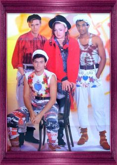 Culture Club, Boy George, Group Photos, Rock N Roll, Music, People, Style, Fashion, Singers