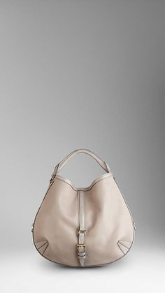 MEDIUM PERFORATED LEATHER HOBO