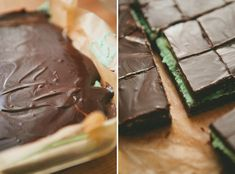 Chocolate Mint Bites - A Thought For Food