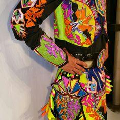 #shawneedesignz  commissioned hoop dance rig...beadwork and applique. www.shawneedesignz.com