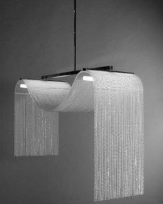 Vague Niagara - Mathieu Lustrerie I Love this. Chandeliers, Ceiling Chandelier, Modern Chandelier, Modern Lighting, Ceiling Lights, Lighting Concepts, Lighting Design, Lamp Inspiration, Contemporary Light Fixtures