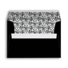 Sold 10 of my Faded #Damask Envelopes #stationery today from my main #zazzle Thank you.