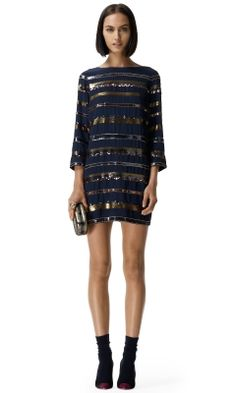 Completely and totally obsessed with this for holiday parties this year! Sadie Dress - Club Monaco Party - Club Monaco