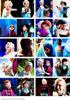 Ouat Elsa and Anna Disney And Dreamworks, Disney Frozen, Disney Pixar, Best Tv Shows, Best Shows Ever, Favorite Tv Shows, Once Upon A Time, Ouat, Frozen Love