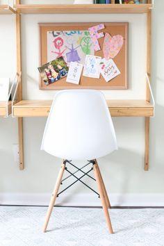 Kids' Room Makeover: The Perfect Bedroom & Playroom Bedroom Desk, Kids Bedroom, Girl Bedrooms, Svalnäs Ikea, Ikea Malm, Ikea Kids Room, Diy Playbook, Kids Study, Contemporary Interior Design