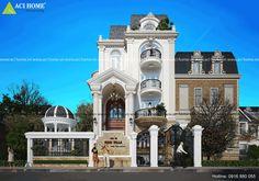 Biệt thự cổ điển đẹp nhất Sài Gòn - Mari villa - view chính diện
