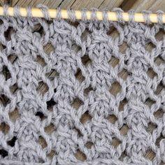 Knitting Dog Rose Stitch: