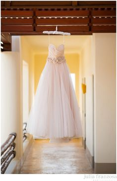 Lazaro Wedding Dress | Blush Wedding Dress | Destination Wedding in Mexico www.julia-franzosa.com