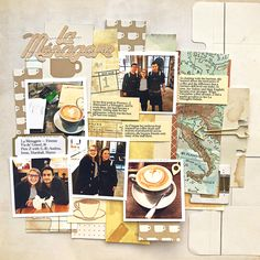 Four Ways to Use Paper Strips in Your Scrapbook Page Foundations   Jill Sprott   Get It Scrapped