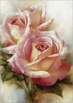 Beautiful roses... ✿ Artist: Igor Levashov
