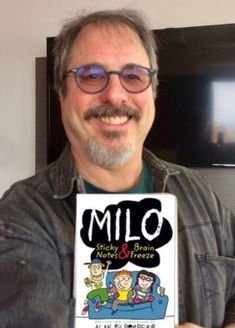 Episode 70 - Milo: Sticky Notes & Brain Freeze by Alan Silberberg — Book Club for Kids Louis Sachar, Richard Scarry, Out Of My Mind, Sticky Notes, News Blog, Middle School, Brain, Writer, Author