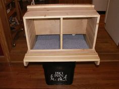 plans for a roll-away nesting box. Especially good if your hens tend to eat the . plans for a roll Chicken Coop Garden, Chicken Coop Plans Free, Chicken Coop Pallets, Mobile Chicken Coop, Best Chicken Coop, Building A Chicken Coop, Chicken Coops, Chicken Laying Boxes, Chicken Nesting Boxes