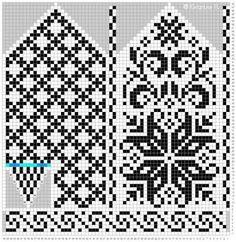 Ravelry: Norwegian Rose - Selbu mittens pattern by Katrine Knitted Mittens Pattern, Fair Isle Knitting Patterns, Crochet Mittens, Knitting Charts, Knitted Gloves, Knitting Stitches, Knitting Needles, Knitting Socks, Norwegian Knitting