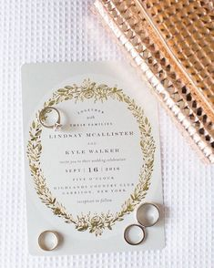 Featured on - look at this beauty! Thank you for this beautiful feature Foil-pressed Wedding Invitations by Phrosne Ras Timeless Wedding, Chic Wedding, Floral Wedding, Rustic Wedding, Pastel Wedding Invitations, Moon Wedding, Wedding Clutch, Wedding Welcome, Rustic Chic