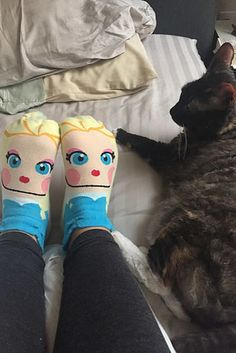 Slip on a pair of the cutest Disney Princess socks to ever roam this Earth. | 29 Ways To Secretly Be Cute AF