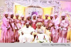 Nigerian Wedding ore iyawo aso ebi styles