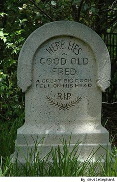 A http://splashtablet.com Repin:  Good Old Fred   Your iPad protected, waterproof while rubbing headstones.  Under $42 at splashtablet.com or Amazon.  5-Stars