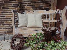 Linen pillows by shabby.romantic / Ľanový vankúš Grandma's Memories
