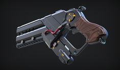 ArtStation - Gun highpoly, N-iX Art Production Studio
