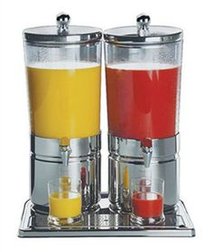 Aps Paderno World Cuisine Stainless Steel Juice Dispenser Duo -- Click on the image for additional details.