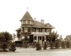 Beacon House At 468 Pine Avenue In Pacific Grove California Circa 1908 Photograph by California Views Mr Pat Hathaway Archives